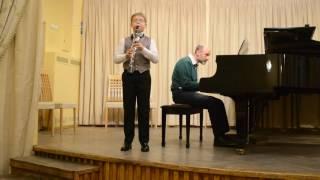 Жига А Корелли кларнет Михаил Филимонцев 9 лет