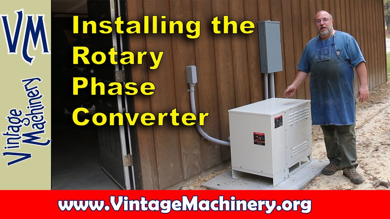 3 Phase Converter Wiring Diagram 2002 Chevy S10 Alternator Electrical Work For My American Rotary Youtube