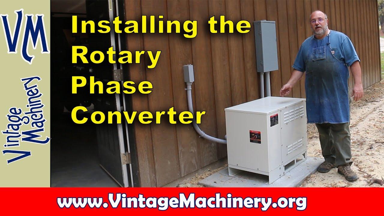 Rotary Phase Converter Wiring Diagram Rotary Phase Converter Wiring