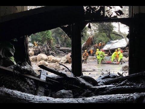 After devastating wildfires, Californians now brace for mudslides