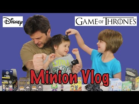 Opening Blinds Minion Vlog(Big Bang Theory, DC, Disney, Game of Thrones) -Day 705 | ActOutGames