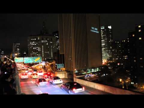 #Occupy Bat Signal for the 99% | Occupy Wall Street Video