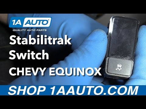 How to Install Replace Stabilitrak Switch 2008 Chevy Equinox