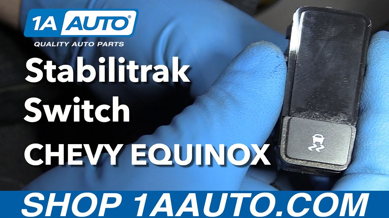 How to Remove Stabilitrak Switch 05-09 Chevy Equinox