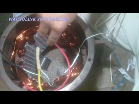 PROSES PENYAMBUNGAN KABEL GENERATOR /GENSET 1 Pasa 3000 watt
