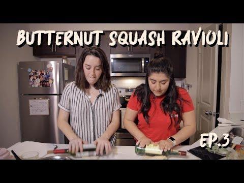 Cooking Butternut Squash Ravioli