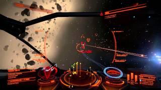 Elite: Dangerous - Cmdr MadRadeks bounty hunting in asteroid belt