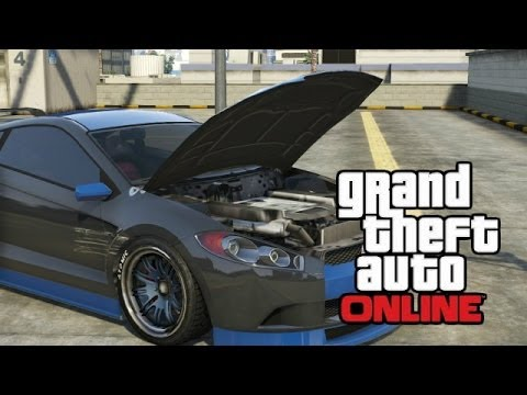 How to open the hood in GTA 85