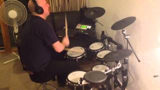 The Police - Can't Stand Losing You (roland Td-12 Drum Cover)