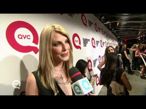 QVC at Fashion Week: On the Red Carpet with Angela Lindvall