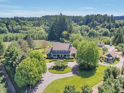 Luxurious Estate on Acreage in Wilsonville ~ Video of 12340