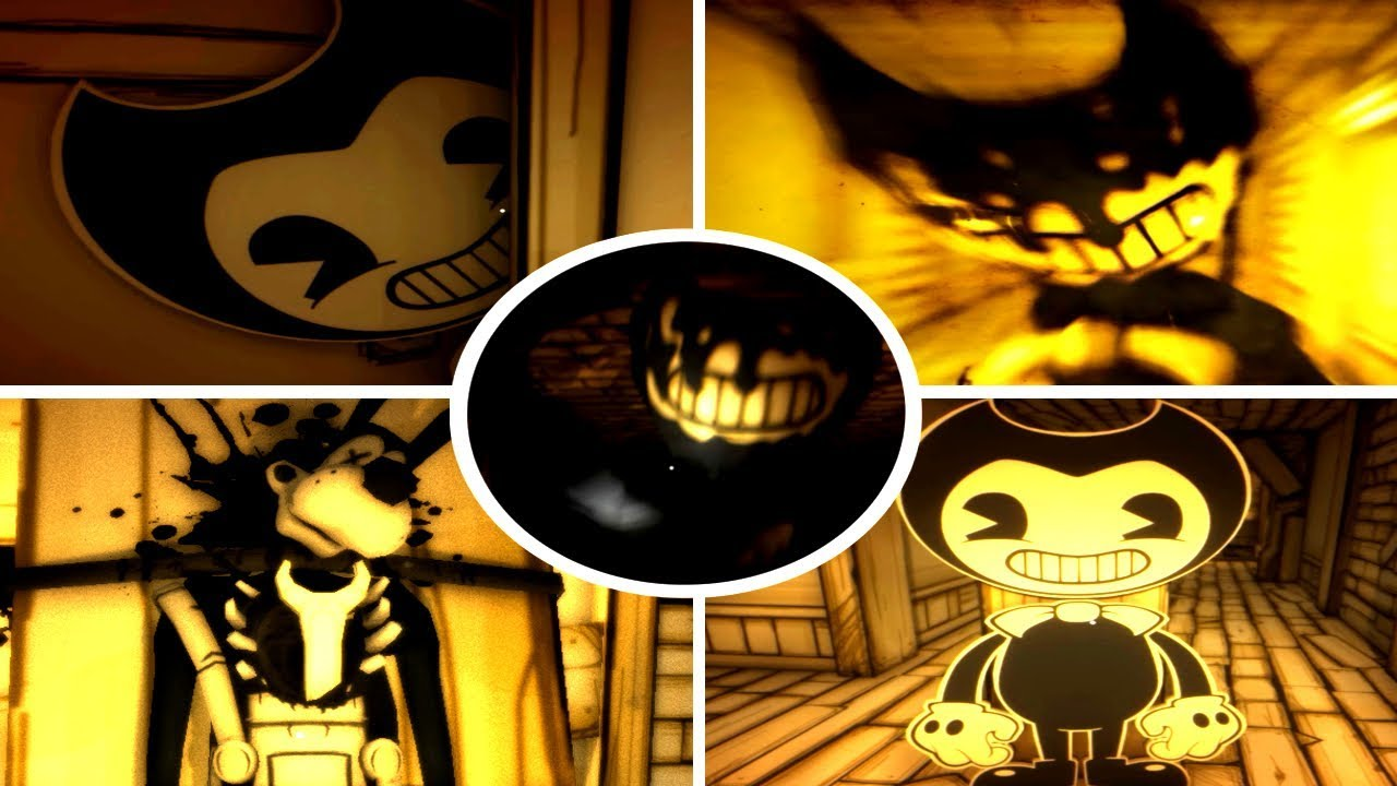 All Batim Jumpscares