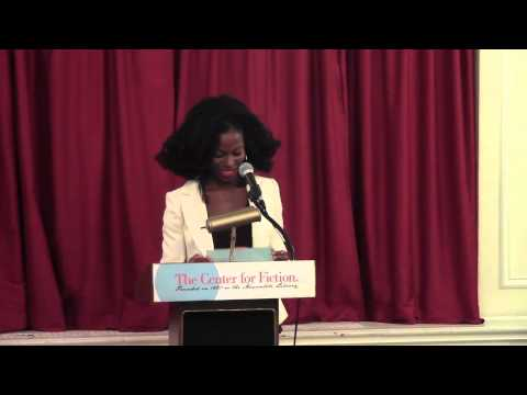 Taiye Selasi speaks at the Center for Fiction in New York City