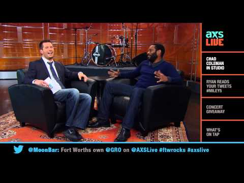 Chad Coleman Interview on AXS Live