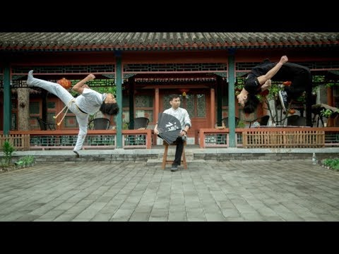 Capoeira meets Chinese