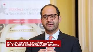 Diputado Issa Kort evaluó realización de la 5ta Mesa Público Privada de Robótica