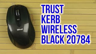 Розпакування Trust Kerb Wireless Black 20784