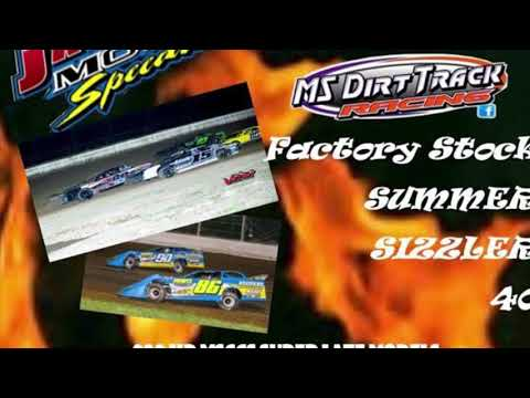 Jackson Motor Speedway 6/9/18 Factory Stock Non-Qualifier Feature