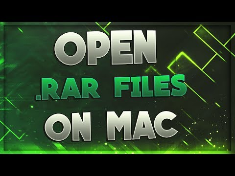 How To Open .RAR files on Mac! FREE *2017* (QUICK AND EASY)