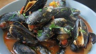 Muscheln in Tomatensoße - Muscheln italiensische Art Rezept und Anleitung