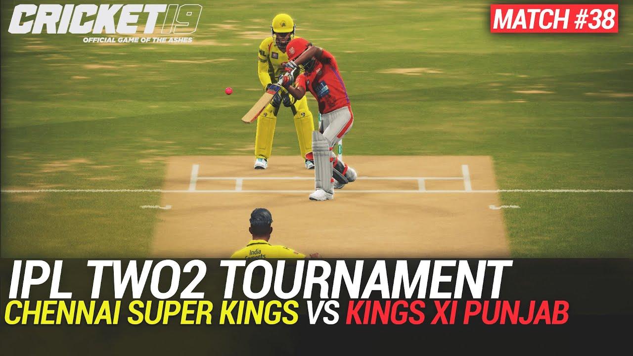 CRICKET 19 - IPL2020 TWO2 - MATCH #38 - CHENNAI SUPER KINGS vs KINGS XI PUNJAB
