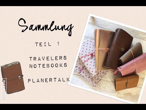 Plannersammlung Teil 1 Travelers Notebook | Plannertalk Midori, Pedori & Co. | filolove_