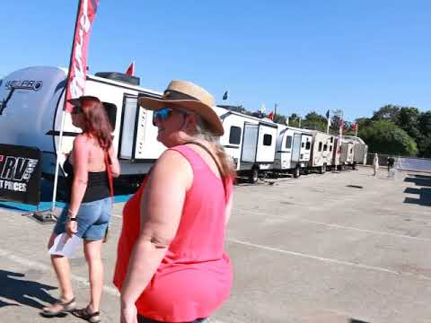 RV(Recreational Vehicle) Show at Pomona, CA 10-7-2017