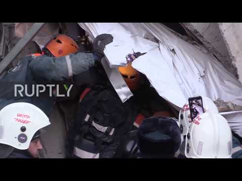 Russia: 10-month old baby miraculously survives 36 hours under Magnitogorsk rubble