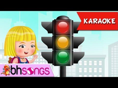 Twinkle Traffic Light & Nursery Rhymes for Babies/Animation for Children [Karaoke 4K]