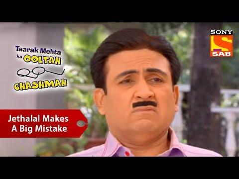 Jethalal Makes A Big Mistake | Taarak Mehta Ka Ooltah Chashmah