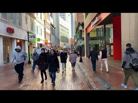 Boston Vibes - Downtown Boston And Boston Common Walk