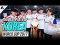 Best Plays of Team South Korea | Overwatch World Cup 2017 Highlights
