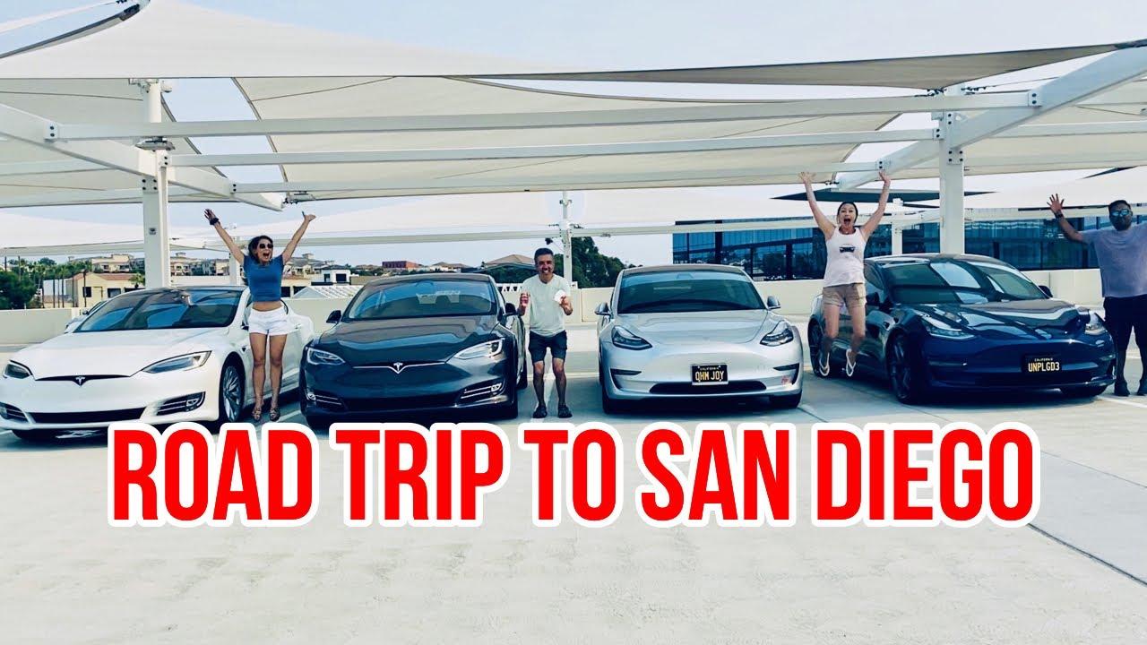 Tesla Model 3 Getaway To San Diego