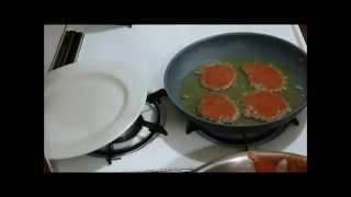 Chicken Liver Panckes (Liver Patties) Оладушки и з Куриной Печени
