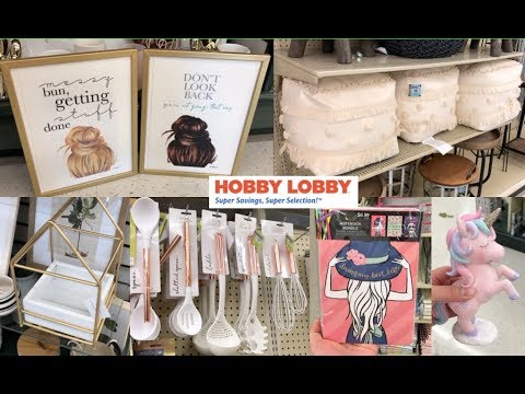 HOBBY LOBBY SHOP WITH ME 2019| GIRLY, BOHO, FARMHOUSE STYLE AND MORE
