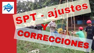 Ensayo SPT, interpretación, corrección y limitaciones según la norma ASTM D 1586