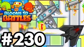 CRAZY *NEW* GUNSHIP TOWER..!!! | Brand New Monkey Ace Skins! | Bloons TD Battles Part 230