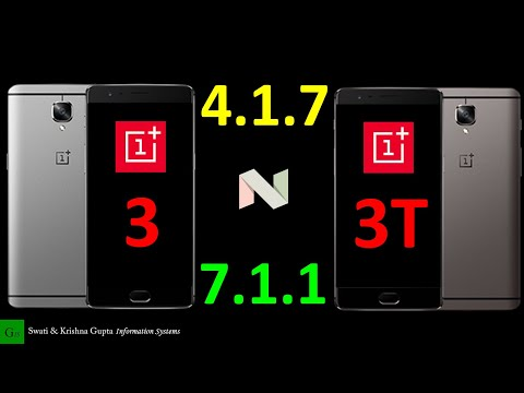 OnePlus 3 & 3T OxygenOS 4.1.7 Update (Android 8.0 Schedule, Touch Latency Improvement)