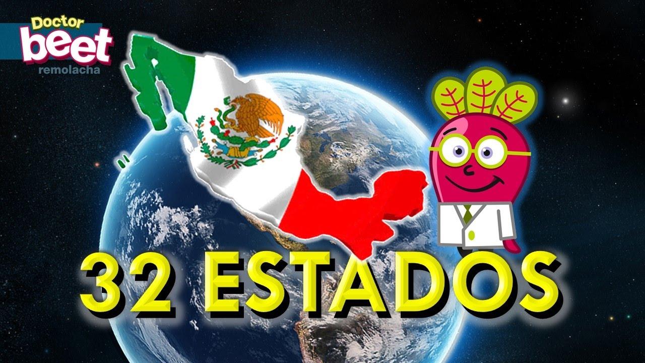 Estados Capitales De Mexico Geografia Mapas Para Niños Youtube
