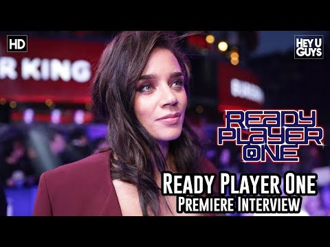 Hannah John Kamen on the magic of Spielberg & Ant-Man & The Wasp - Ready Player One Premiere