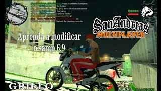 COMO MODIFICAR SAMP 6.9 NO ANDROID GTA-ONLINE