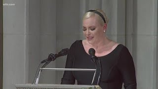Meghan McCain Says 'America was Always Great': Full Comments at John McCain Funeral