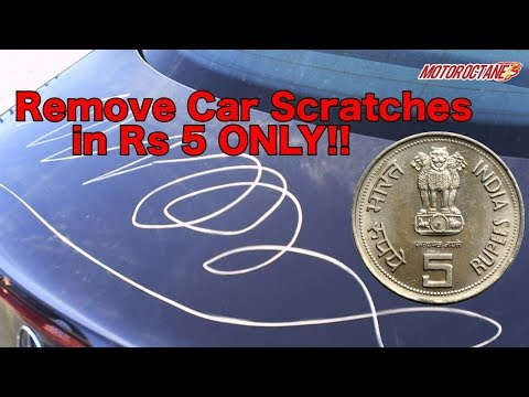 Remove Car Scratches in Rs 5 in Hindi | MotorOctane