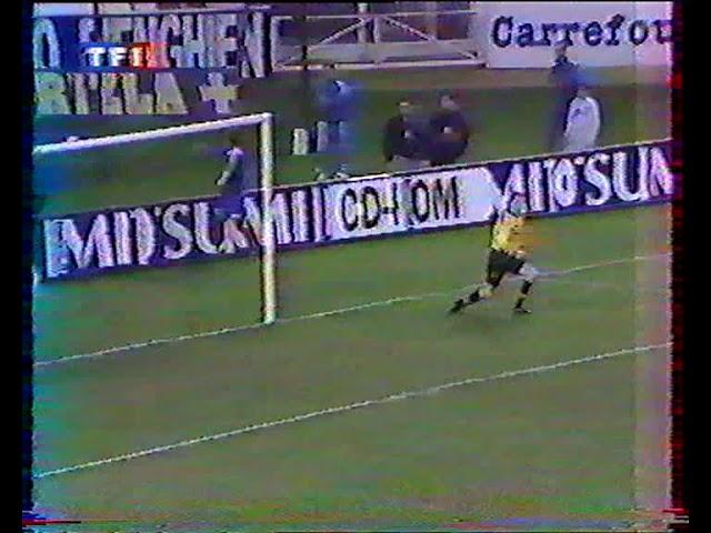PSG   Chateauroux  coupe de France 96