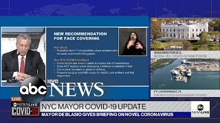 NYC mayor advises New Yorkers …
