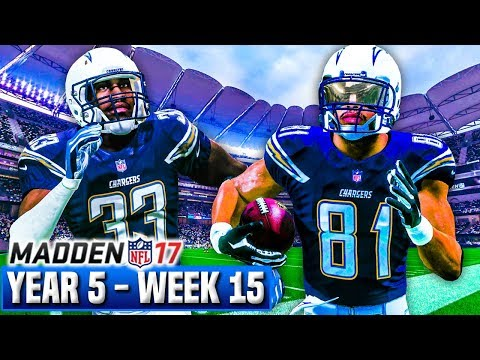 Madden 17 Chargers Franchise Year 5 - Week 15 vs Broncos | Ep.111
