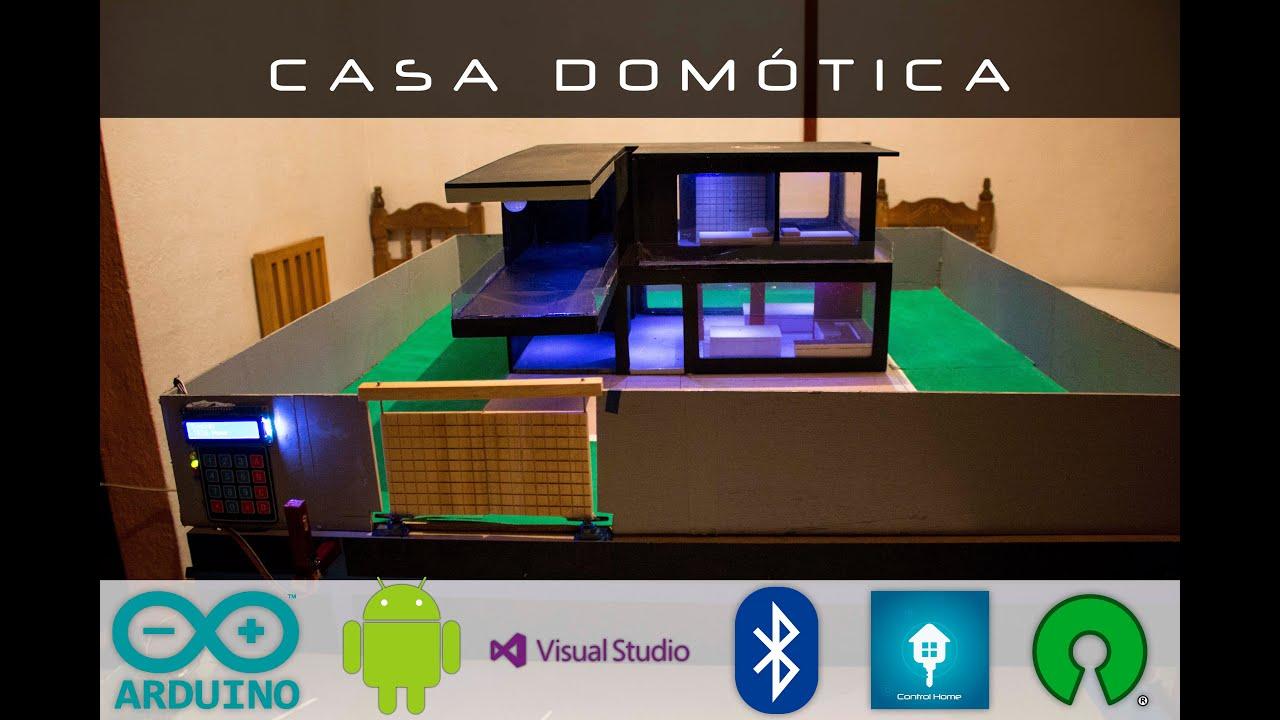Proyecto con arduino y android domotica youtube