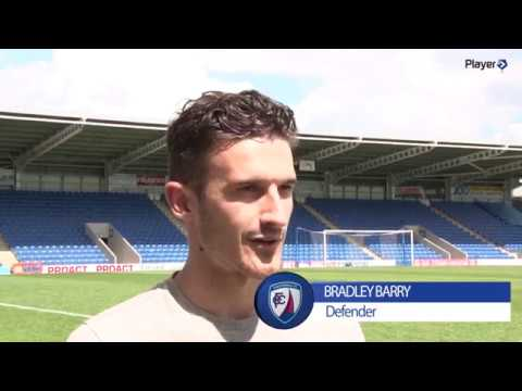 Bradley Barry First Interview