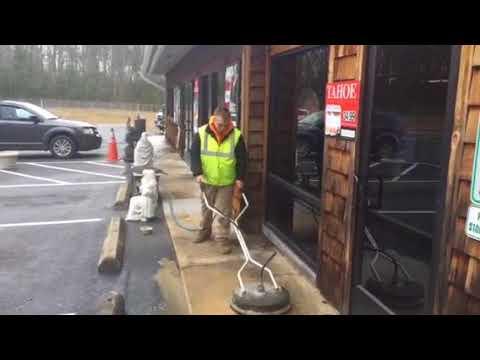Concrete pressure washing Stafford Va Virginia power washing