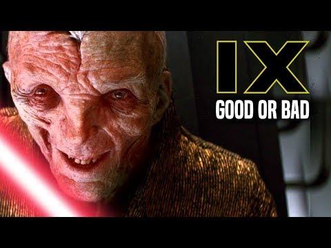 Star Wars! Snoke As Darth Plagueis In Episode 9 - Good Or Bad!
